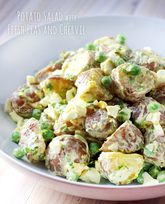 Potato Salad with Fresh Peas and Chervil