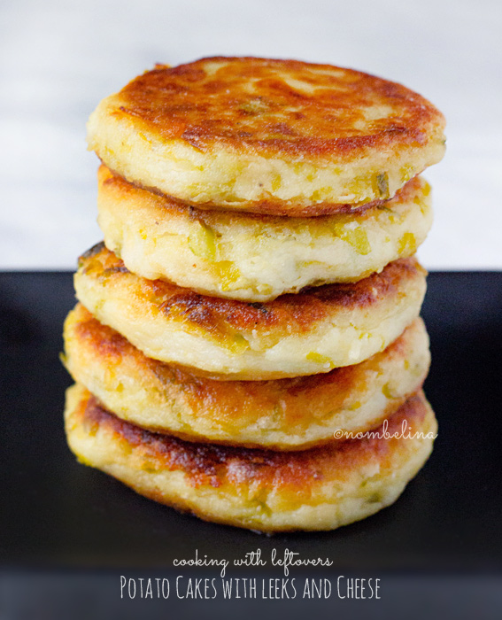 Potato Cakes with Leeks and Cheese