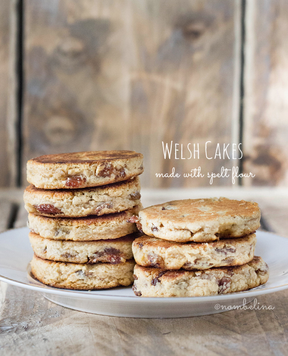 Welsh Cakes made with spelt flour