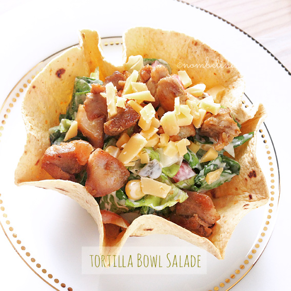 Tortilla Bowl Salade