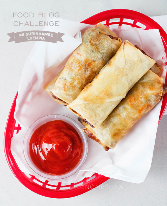 Surinaamse loempia - Food Blog Challenge #8