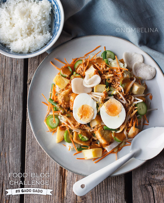 Gado gado - Food Blog Challenge #9